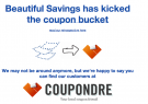 BeautifulSavings.com is officially dead.